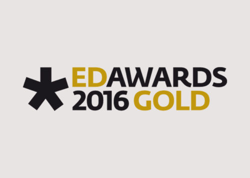 European Design Awards 2016 // Gold price