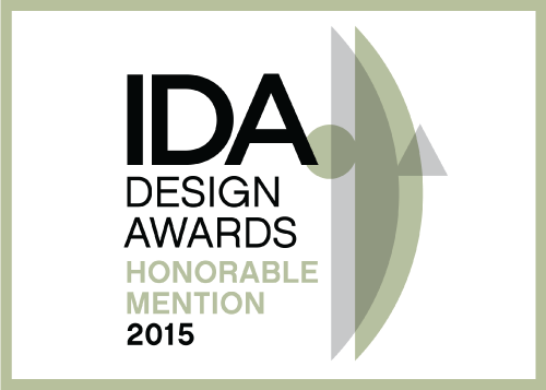 IDA-International Design Awards 2015 // Menzione d'Onore